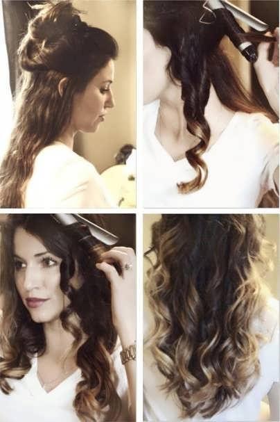 Как сделать красивые локоны плойкой на средние волосы