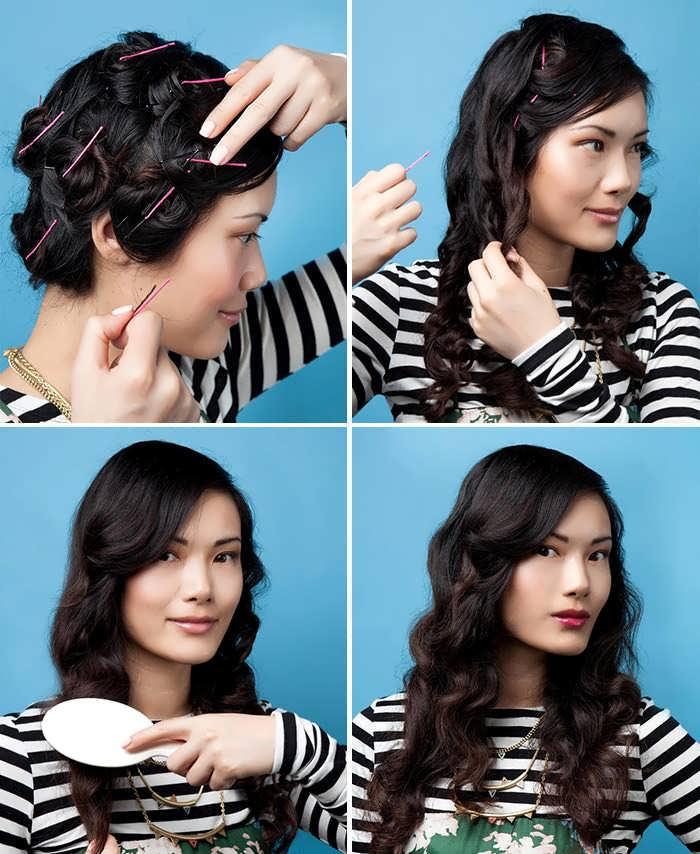 Как быстро сделать волнистые волосы в домашних условиях 81