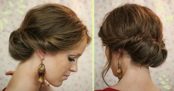 Пучки для коротких волос своими руками