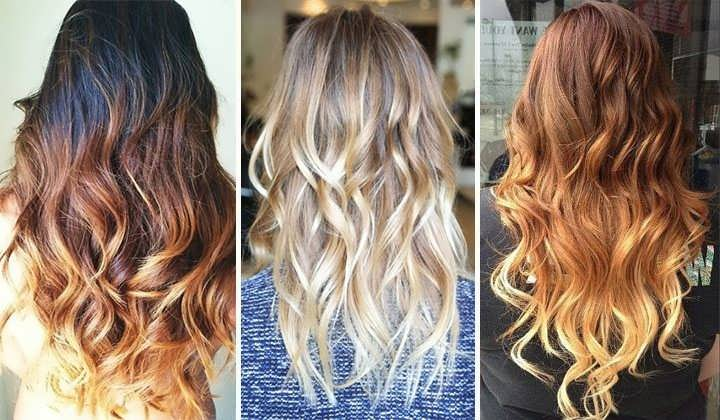 Фото осветленные кончики волос