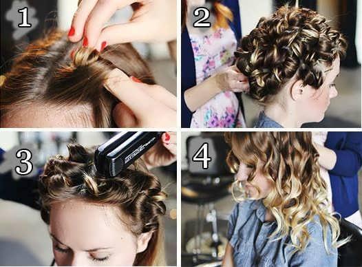 Как накрутить волосы на утюжок: 6 вариантов с фото