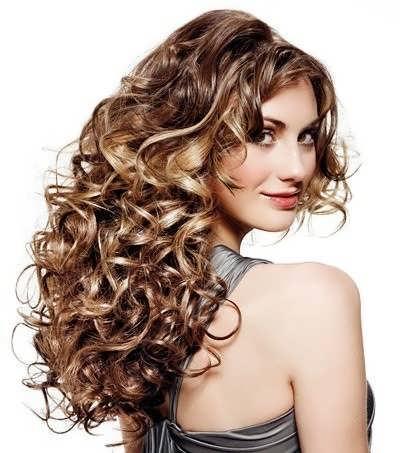 современные локоны на длинные волосы