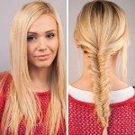 Плетение кос самой себе
