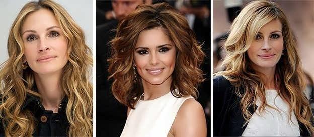 Как красиво завить волосы средней длины