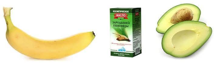 Maska iz banana i avokado