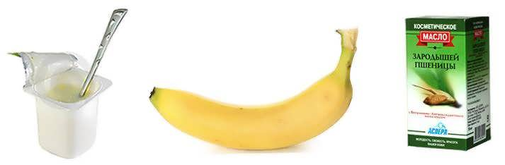 Maska iz banana i yogurta