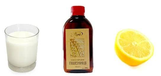 maslo pshenitsy kefir i limon