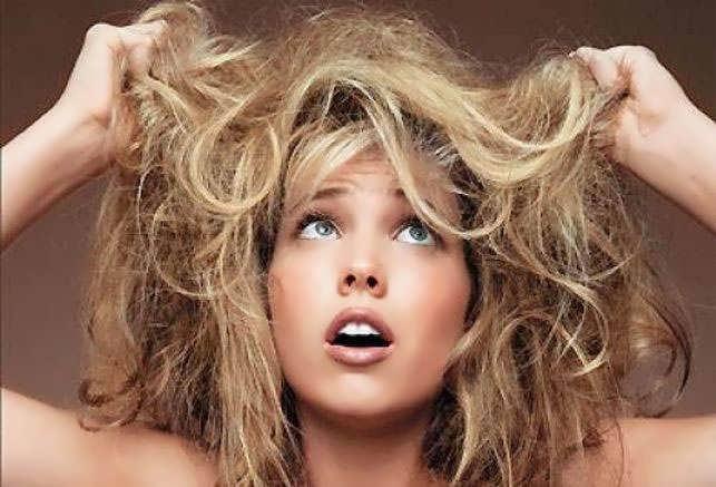 Чем мазать волосы чтобы они не пушились