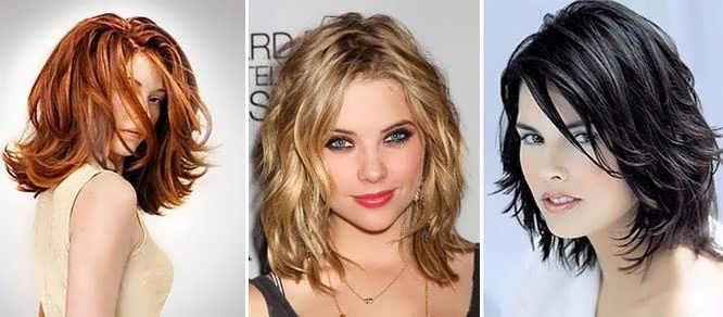 Причёски без челки фото
