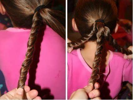 Прически на средние волосы в школу