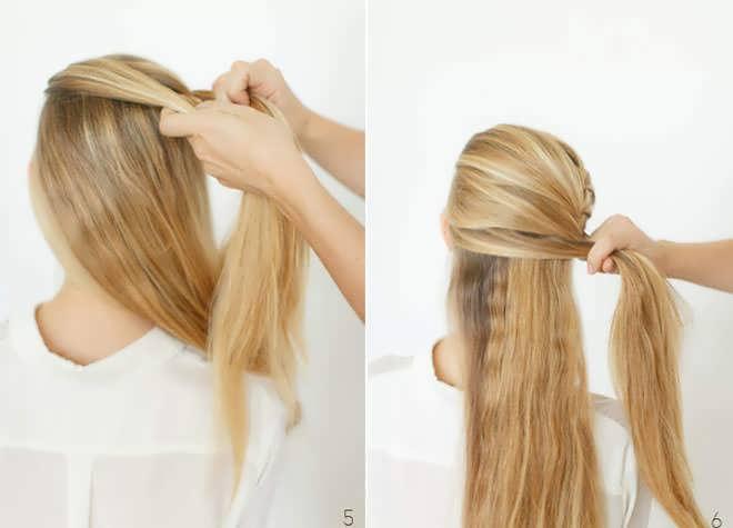 Легкие вечерние прически на средние волосы