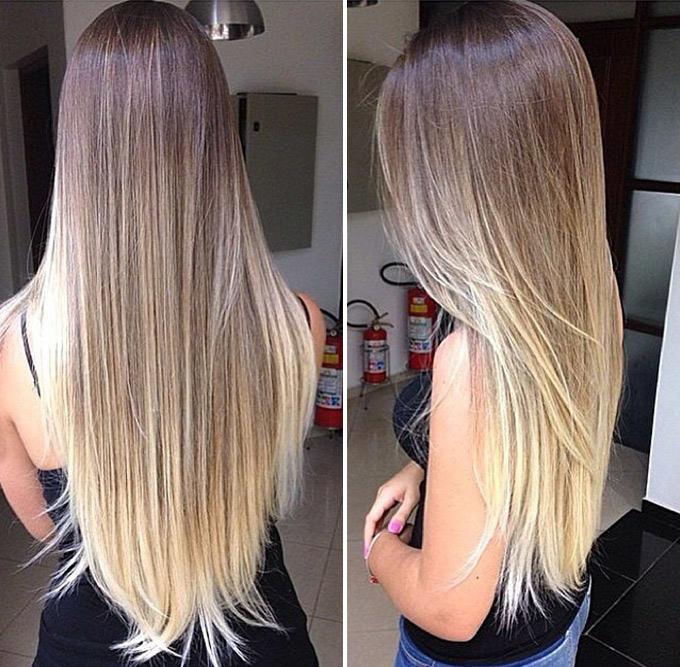 шоколадный цвет волос оттенки фото