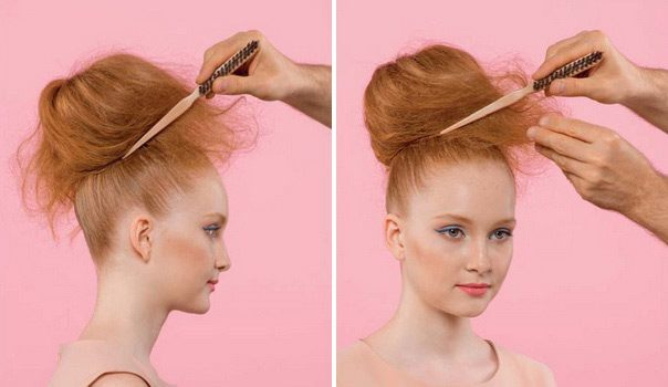 Прически в стиле 90 на длинные волосы