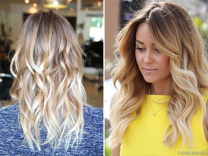 Как покрасить волосы русые