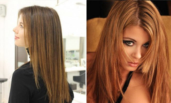 Прически на негустые волосы средней длины