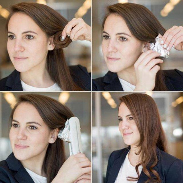 Как сделать чтобы кудри держались на длинных волосах 880