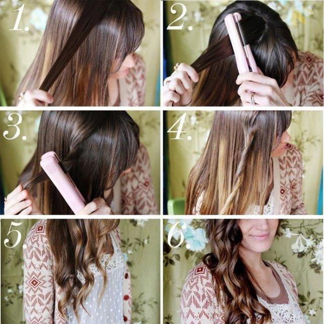 Как сделать волны мелкие на волосах