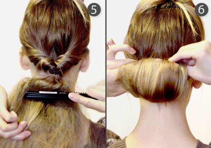 Собрать длинные волосы красиво