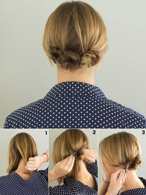 Как собрать длинные волосы красиво и просто