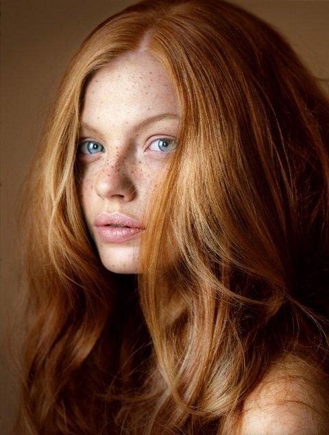 фото цвет волос рыже русый