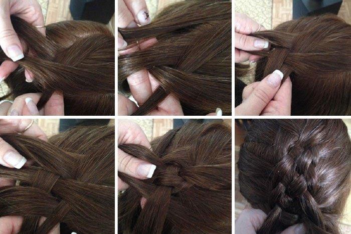 Kak pravilno zaplesti pyatipryadnuyu kosu (1)