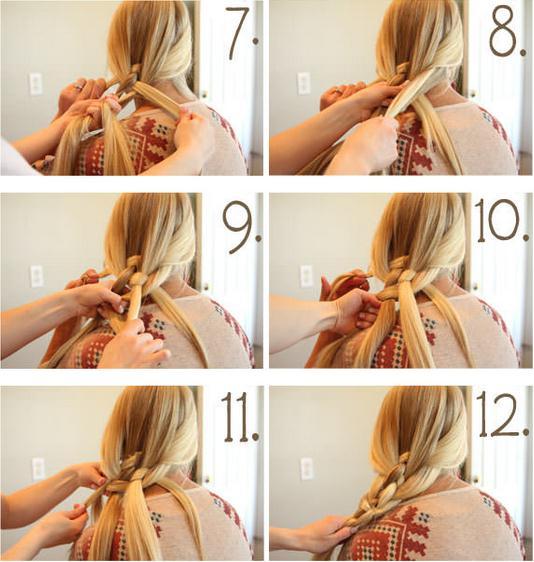 как плести косу из 5 прядей пошаговая инструкция фото - фото 2