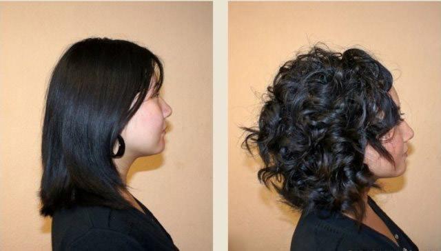 карвинг на волосы короткие фото