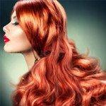 Способы мелирования для рыжих волос