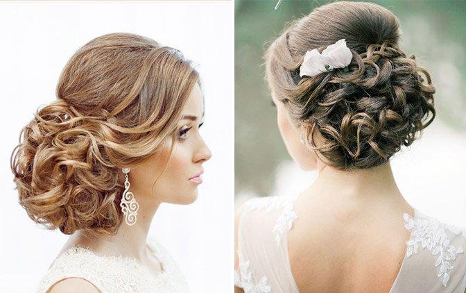 Прически на длинные волосы для свадьбы фото