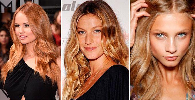 Золотисто-песочный цвет волос