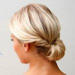 Плетение косы с лентой пошагово