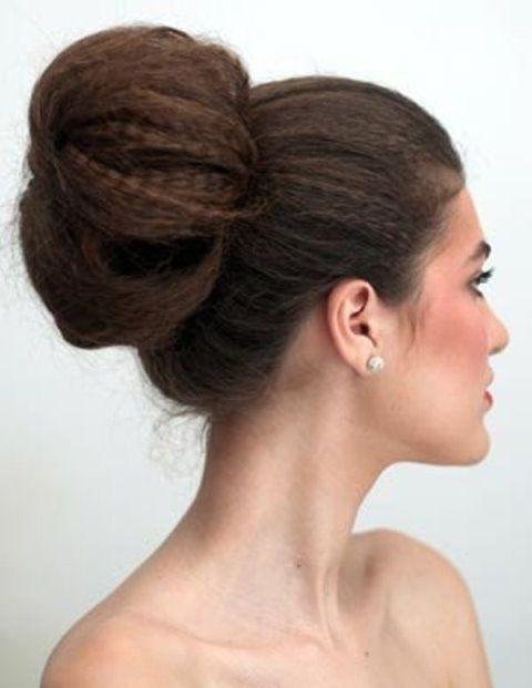 Прическа с гофре на средние волосы