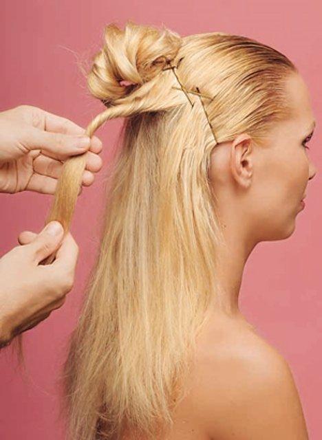 Как сделать волосы объемными на затылке