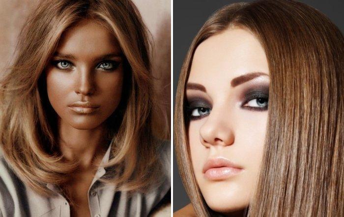 Цвет волос для серых глаз: какой цвет волос подходит (фото)