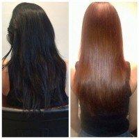 Как вывести черный цвет волос