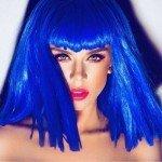 Синий цвет волос — смелые эксперименты для дерзких и молодых