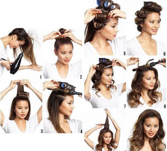 Как правильно накрутить волосы на термобигуди