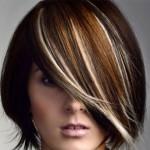 Мелирование: осветление прядей на темных волосах