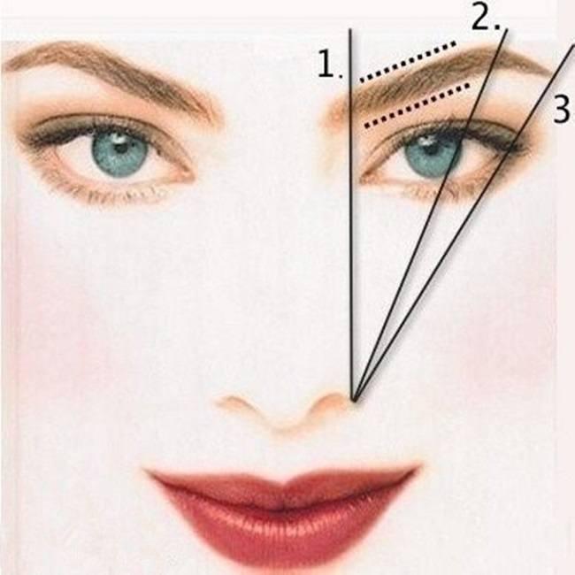 Как сделать естественные брови
