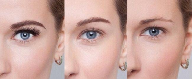Как смыть краску с бровей и с кожи в домашних условиях: 5 способов