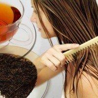 Окрашивание волос черным чаем секреты процедуры
