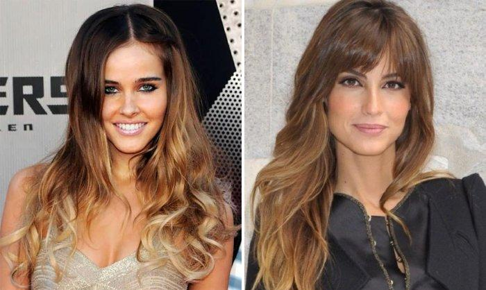 Окрашивание волос для брюнеток: 15 вариантов покраски волос (фото)