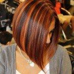 Модные варианты колорирования на короткие волосы