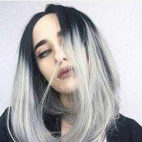 Осветление методом омбре кончиков волос