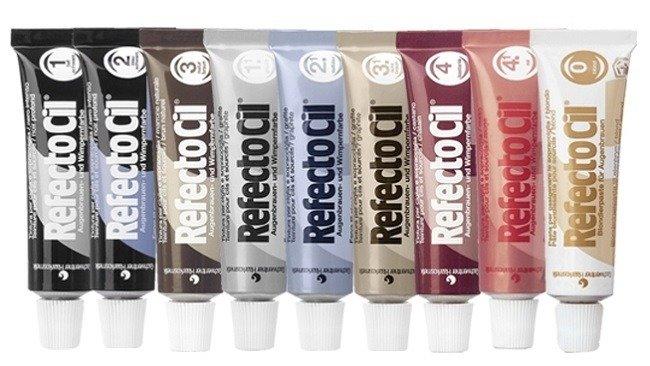 Как самостоятельно покрасить ресницы краской