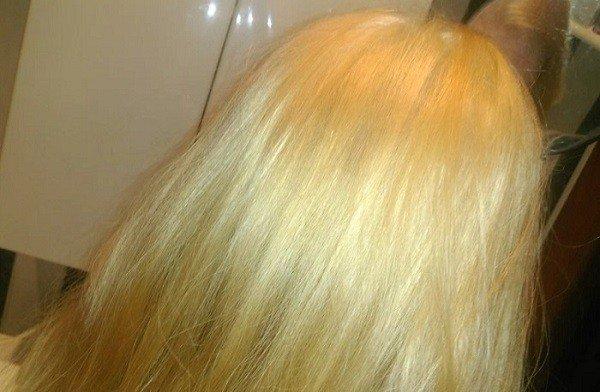 декларация рекламируемом осветление волос без желтизны ООО
