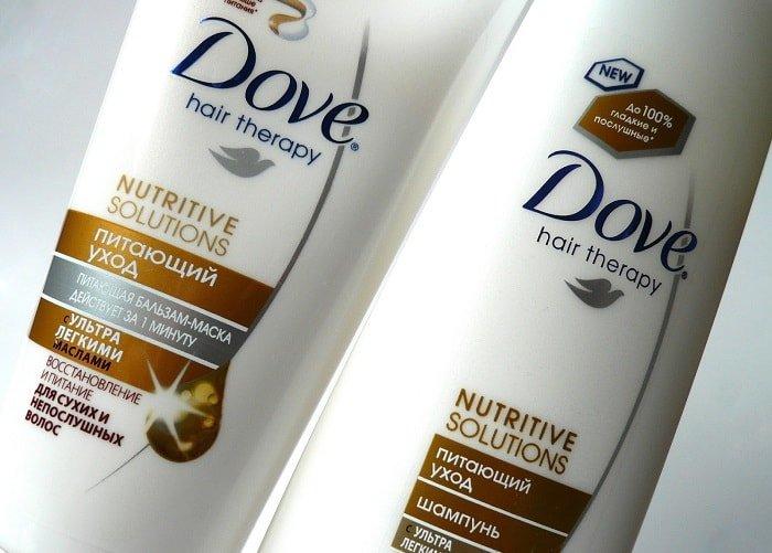 Питающий уход Dove