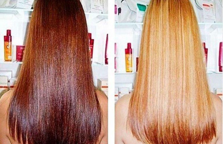 Осветляющие краски для волос без 287