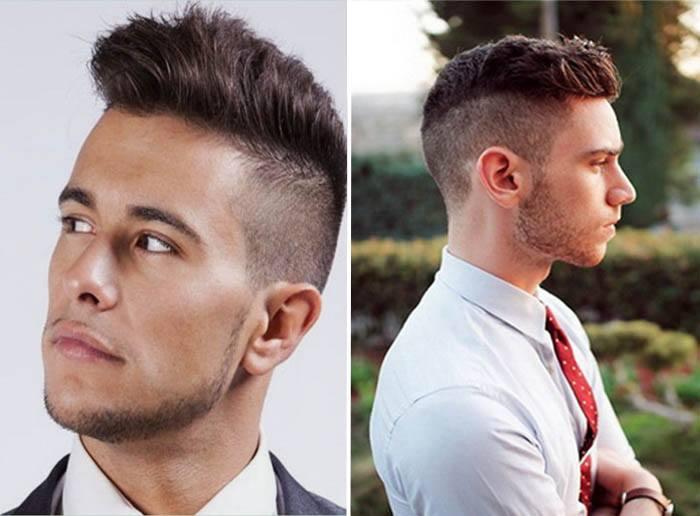 Как мужчине сделать волосы назад 771