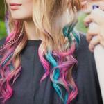 Как красить волосы мелками?
